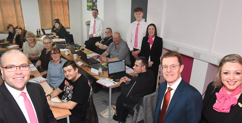 BlogImage AndyStreet 1 - New Warwickshire skills centre praised by Mayor Andy Street